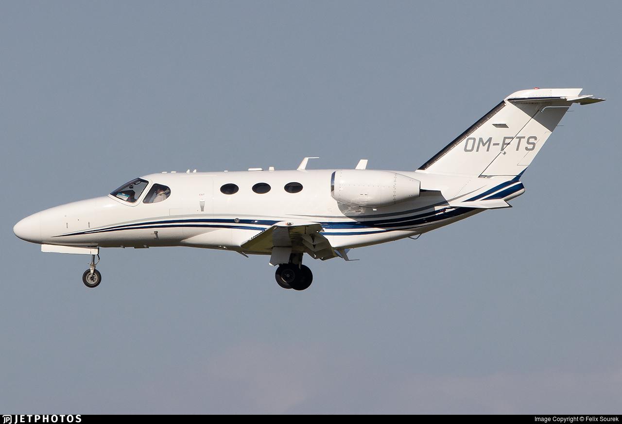 OM-FTS - Cessna 525A CitationJet 2 - Elite Jets