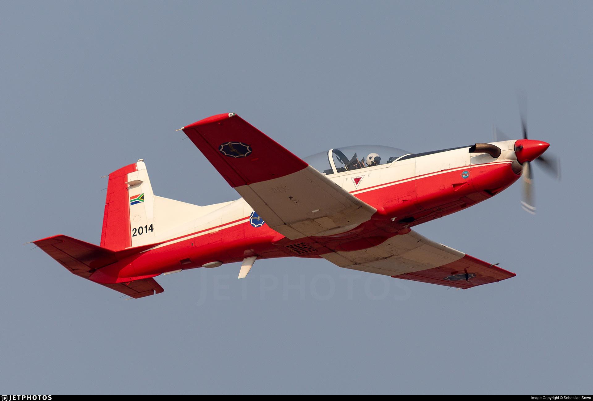2014 - Pilatus PC-7 Mk.II - South Africa - Air Force