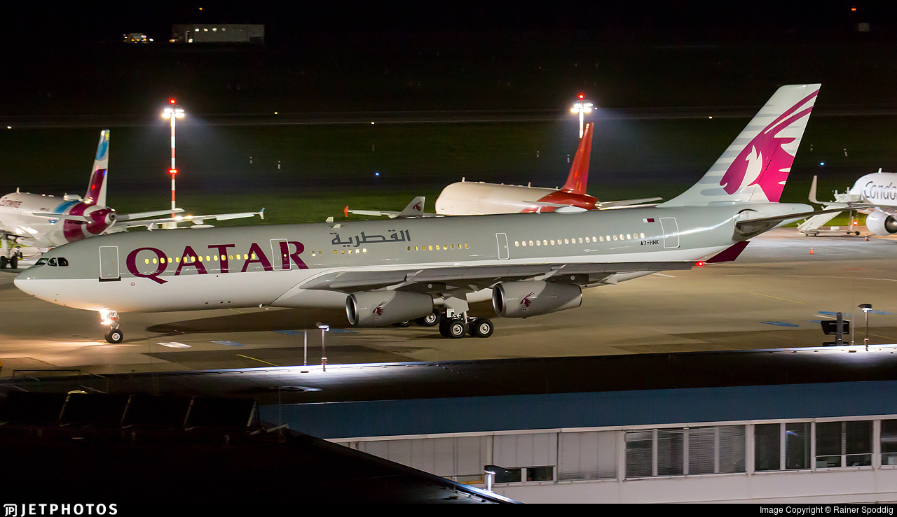 A7-HHK - Airbus A340-211 - Qatar - Amiri Flight