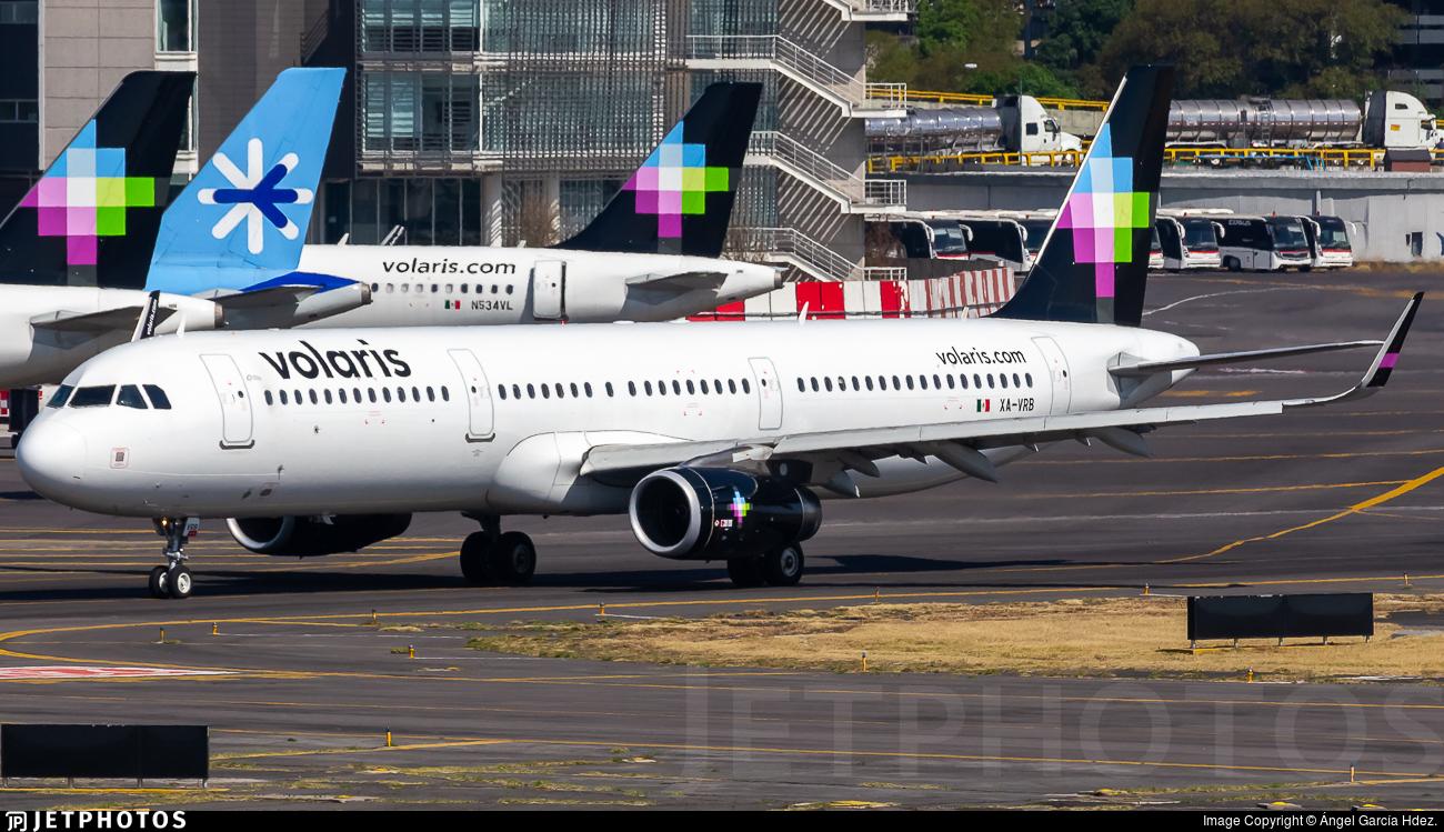 XA-VRB - Airbus A321-231 - Volaris