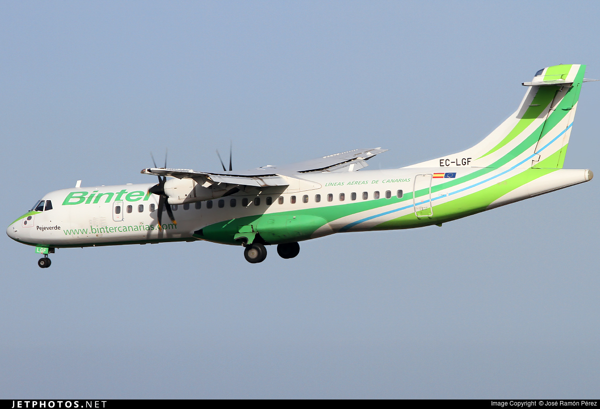 EC-LGF - ATR 72-212A(500) - Binter Canarias (Naysa)