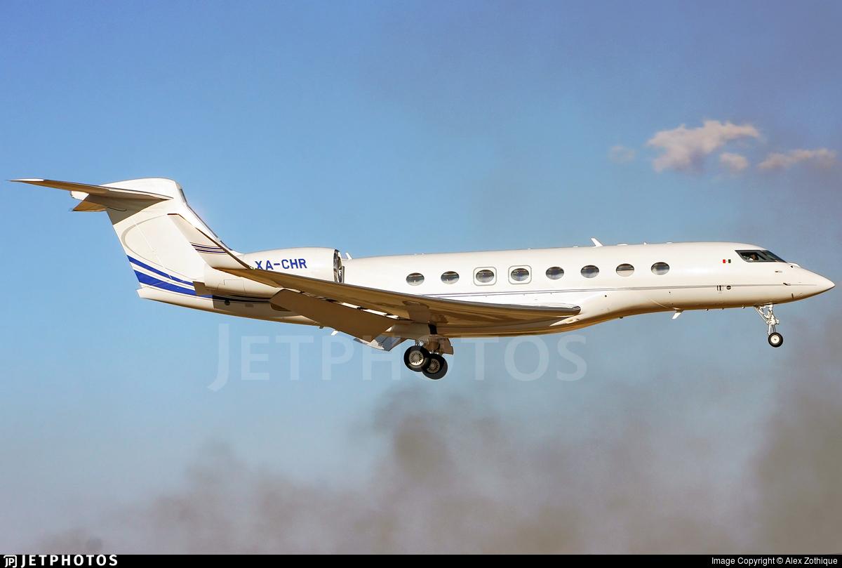 XA-CHR - Gulfstream G650 - Private