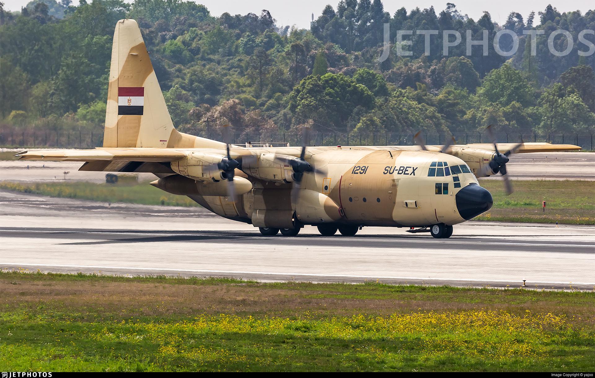 1291 - Lockheed C-130H Hercules - Egypt - Air Force