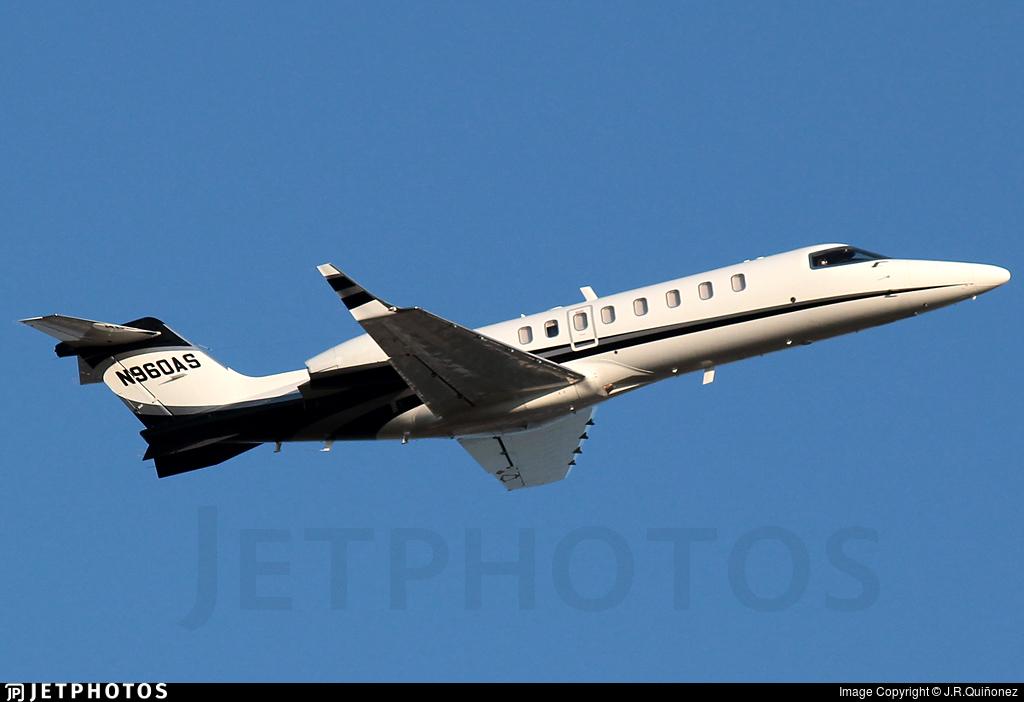N960AS - Bombardier Learjet 45XR - Private