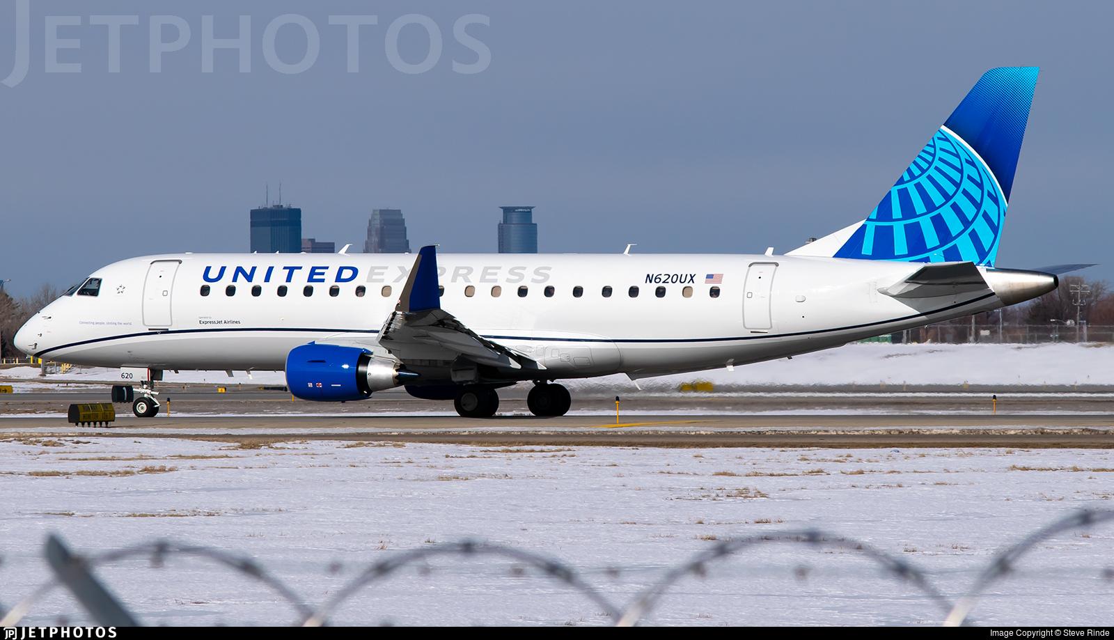 N620UX - Embraer 170-200LL - United Express (ExpressJet Airlines)