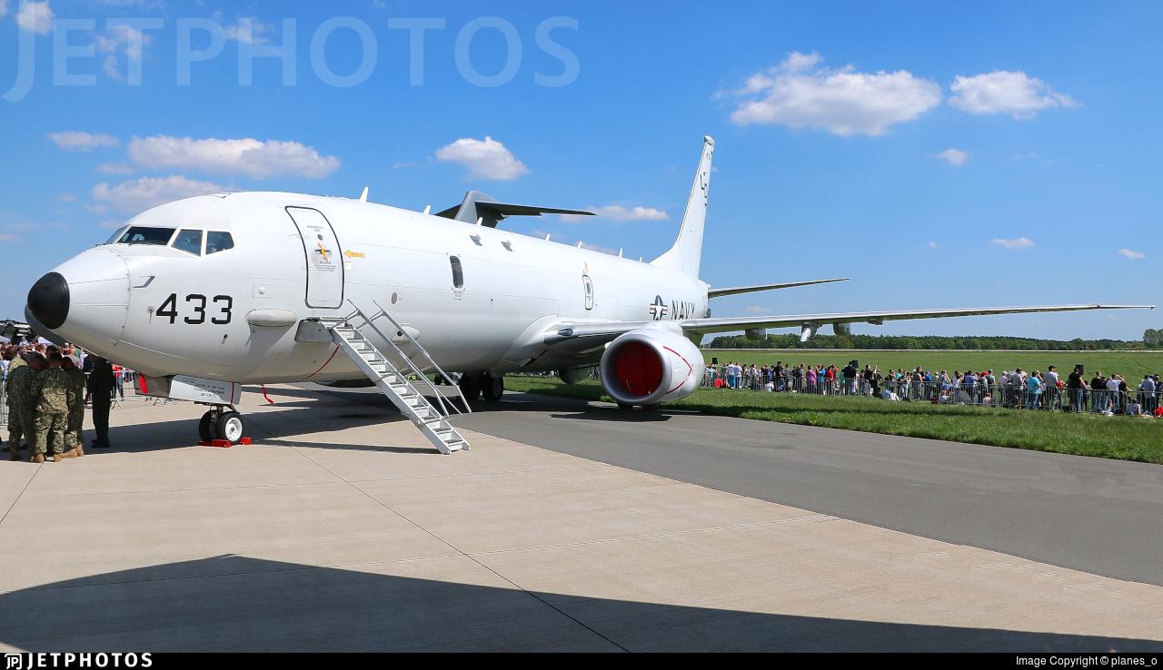 168433 - Boeing P-8A Poseidon - United States - US Navy (USN)