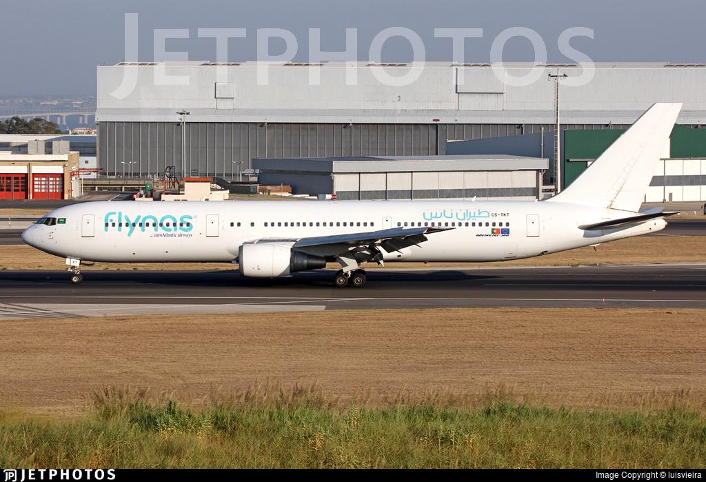 CS-TKT - Boeing 767-36N(ER) - Flynas (EuroAtlantic Airways)