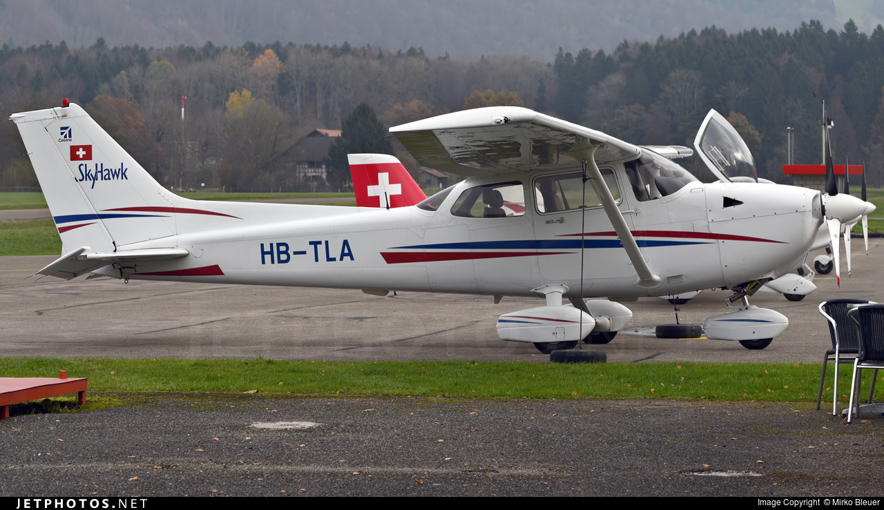 HB-TLA - Cessna 172R Skyhawk - Flubag Flugbetriebs