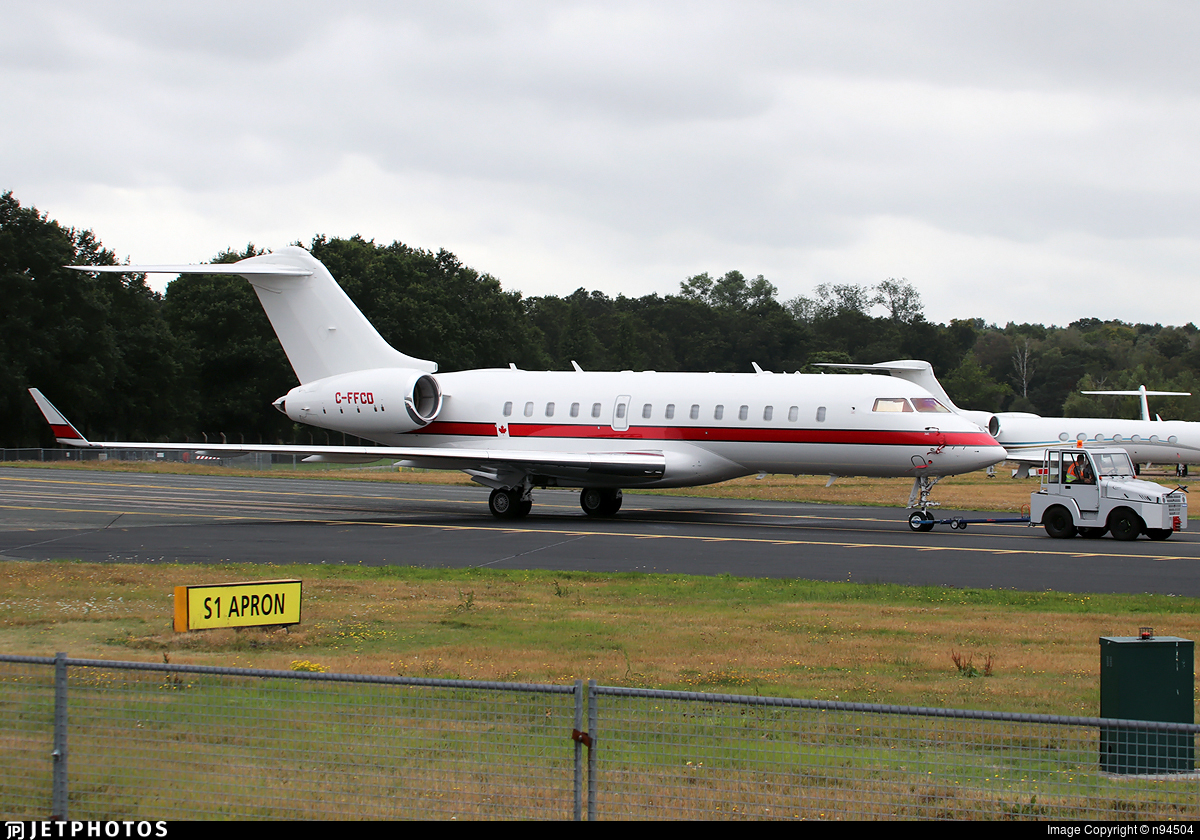 C-FFCD - Bombardier BD-700-1A11 Global 5000 - Private