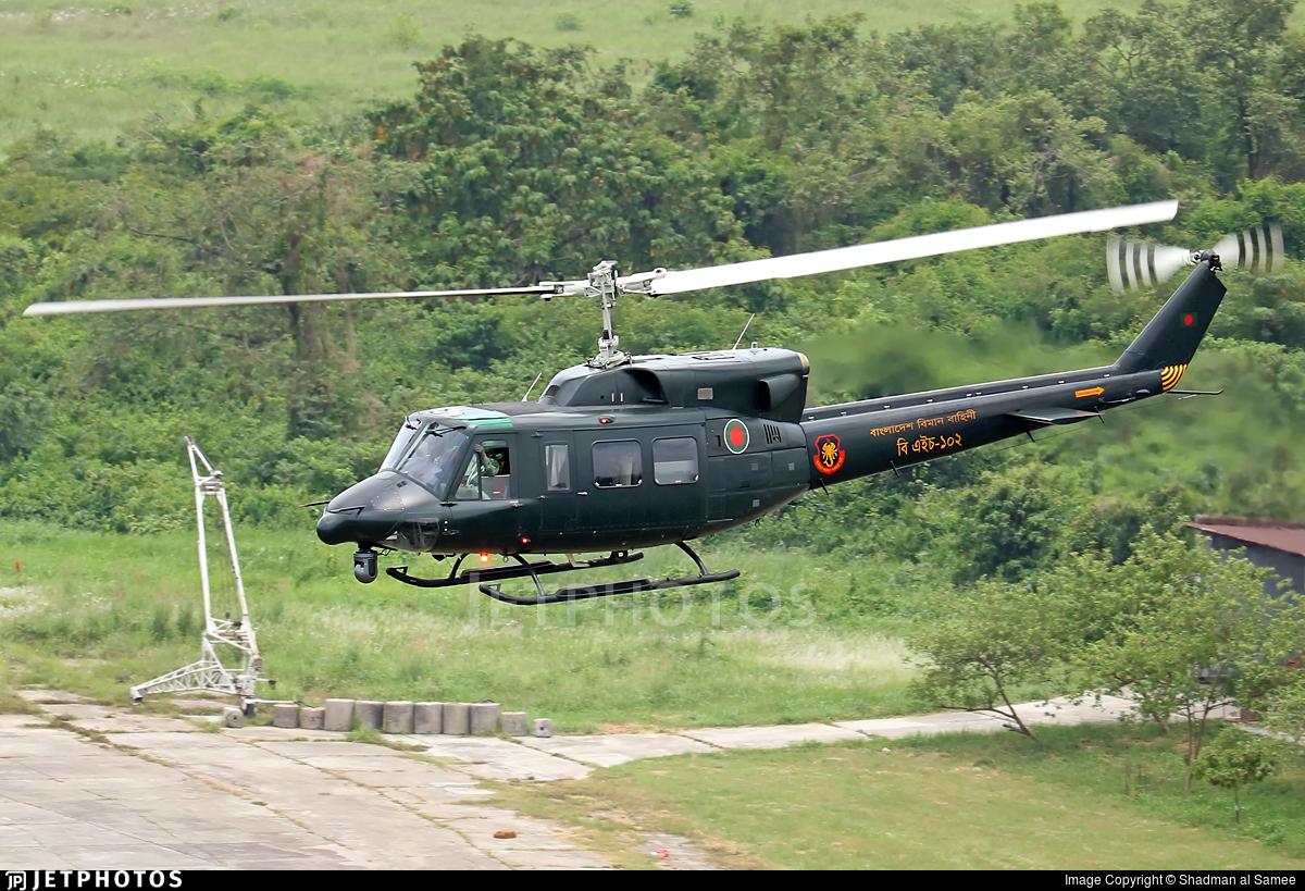 BH102 - Bell 212 - Bangladesh - Air Force