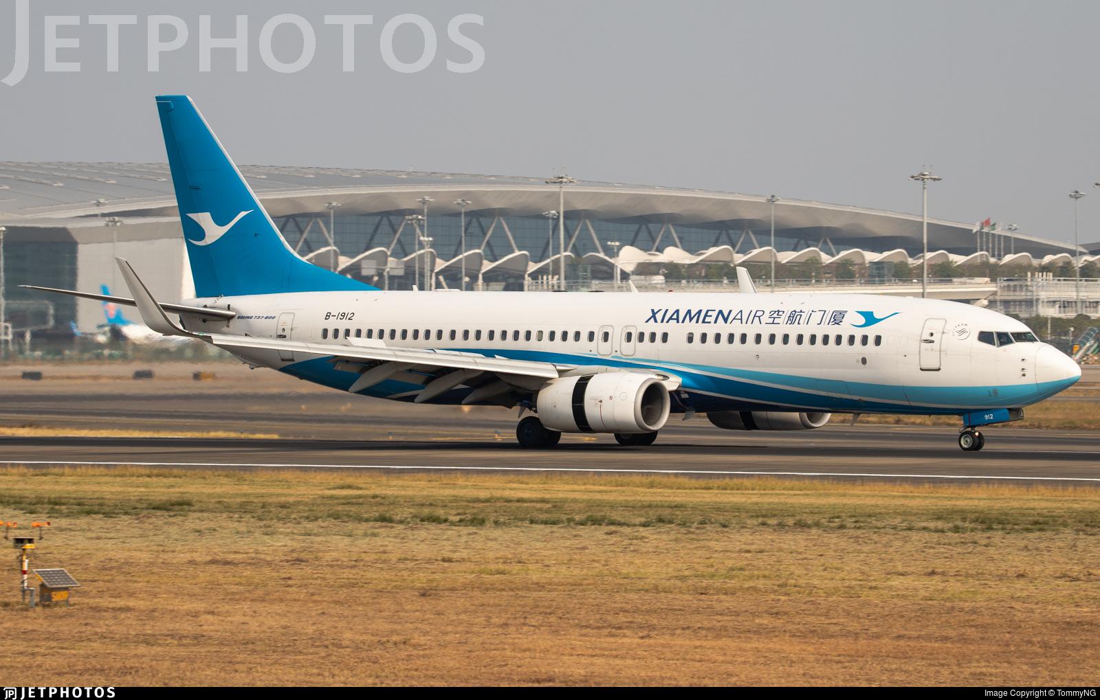 B-1912 - Boeing 737-85C - Xiamen Airlines