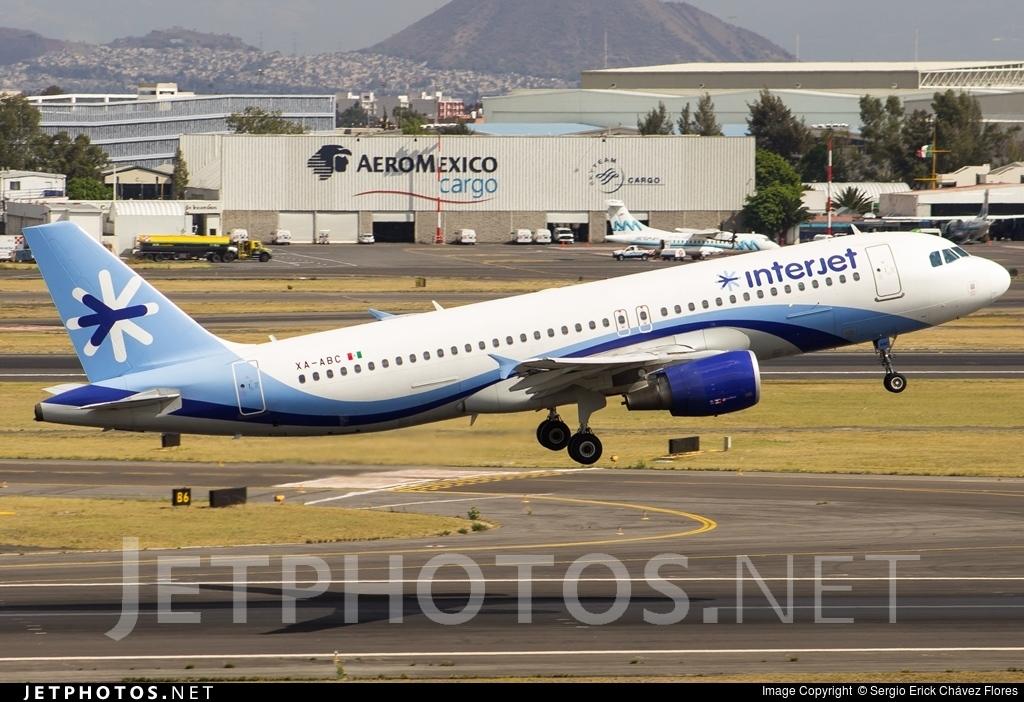 XA-BIC - Airbus A320-214 - Interjet