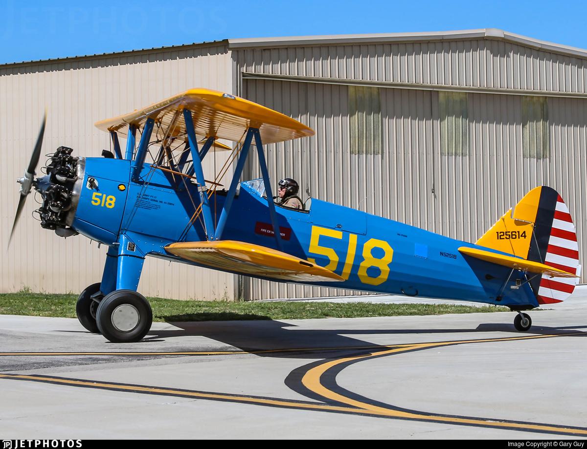 N52518 - Boeing PT-17 Kaydet - Private