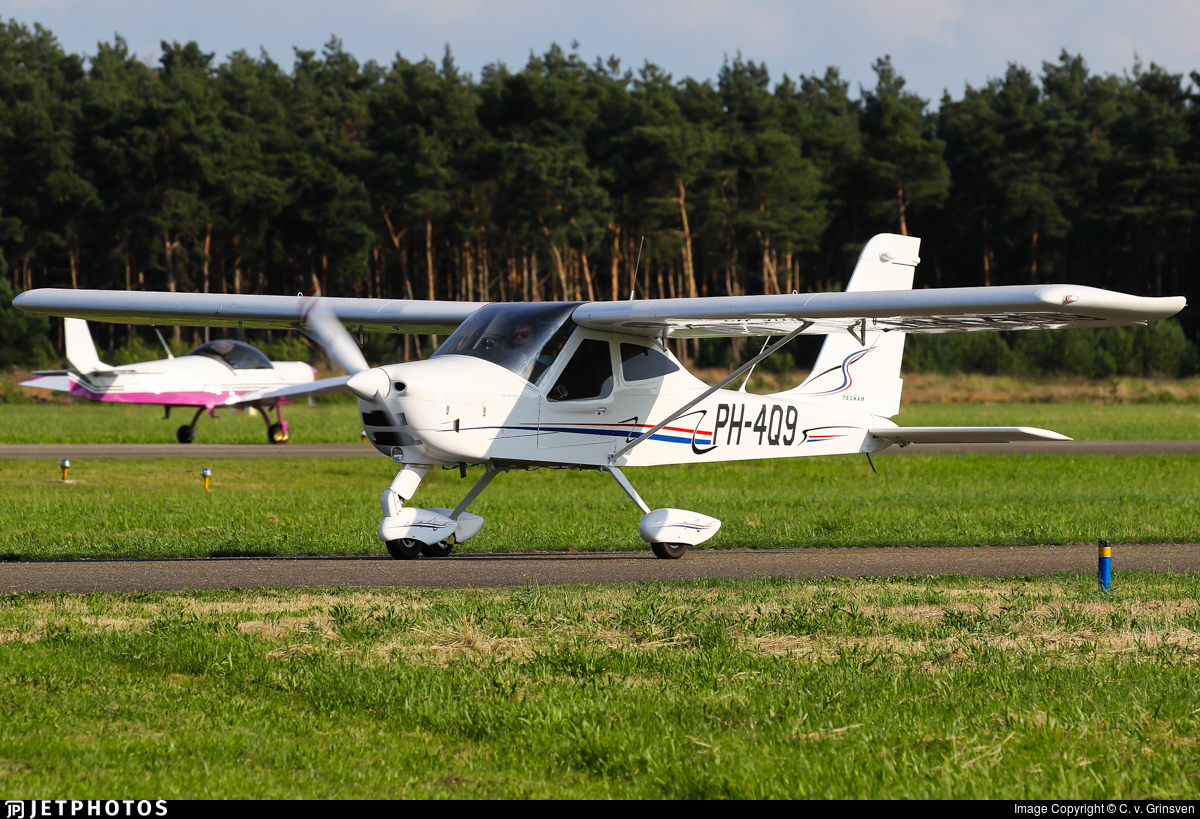 PH-4Q9 - Tecnam P92 Echo - Private