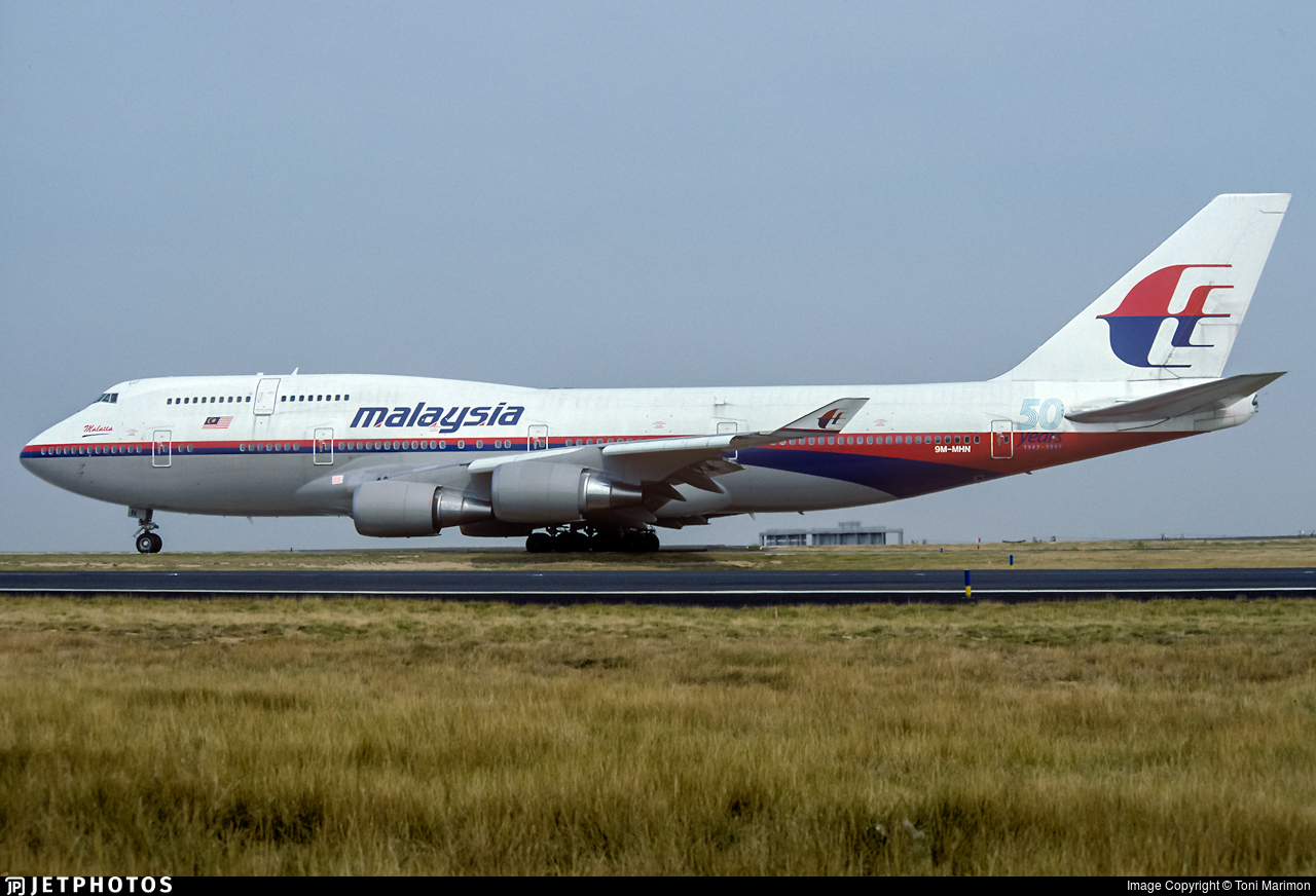 9M-MHN - Boeing 747-4H6 - Malaysia Airlines