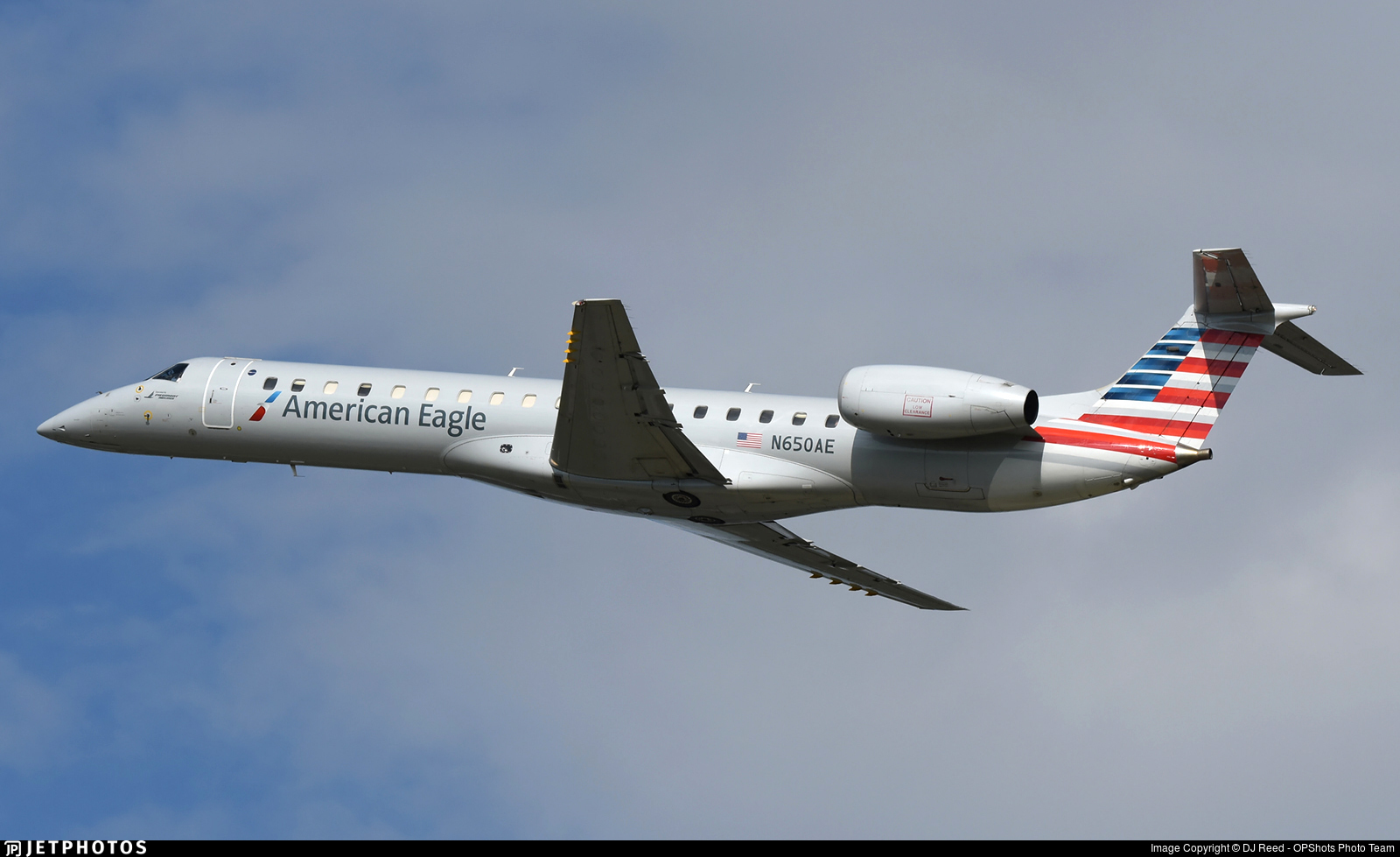 N650AE - Embraer ERJ-145LR - American Eagle (Piedmont Airlines)