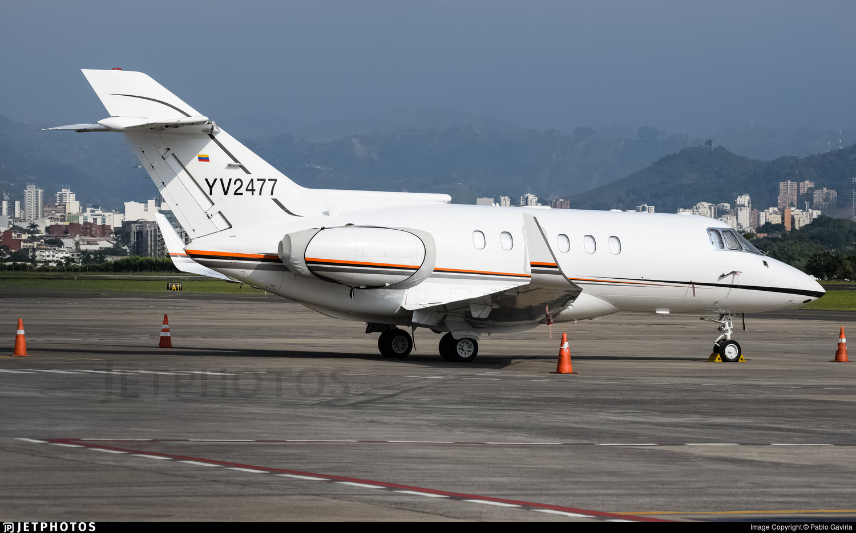 YV2477 - British Aerospace BAe 125-800B - Private