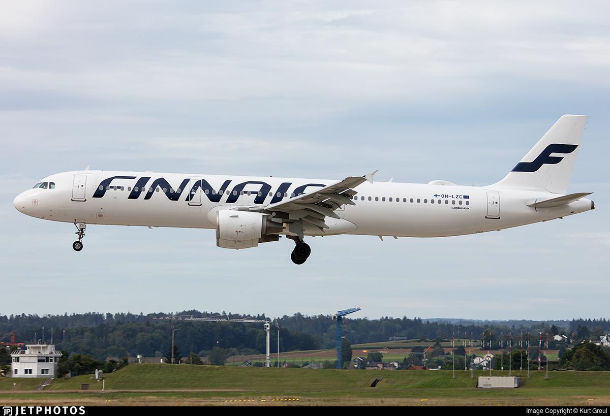 OH-LZC - Airbus A321-211 - Finnair