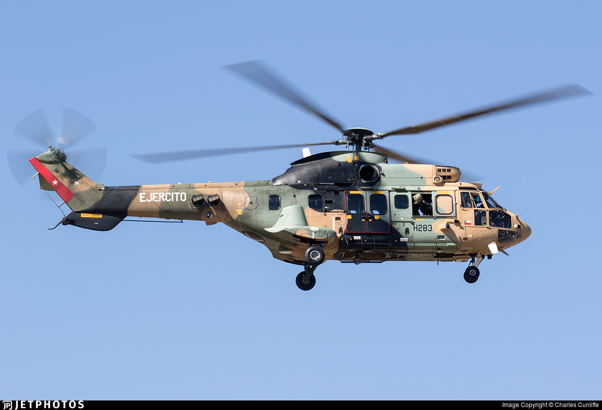 H283 - Eurocopter AS 532AL Cougar - Chile - Army