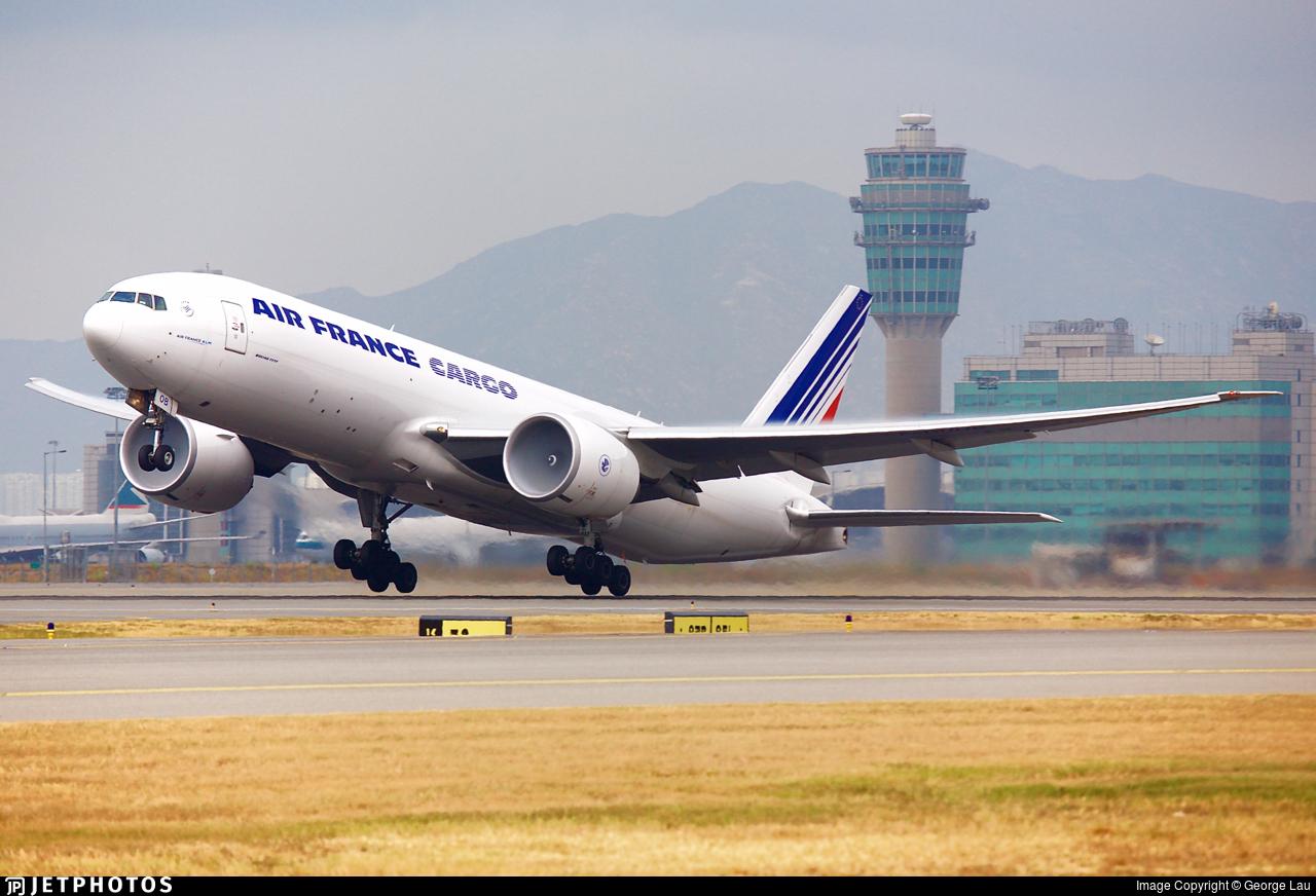 F-GUOB - Boeing 777-F28 - Air France Cargo