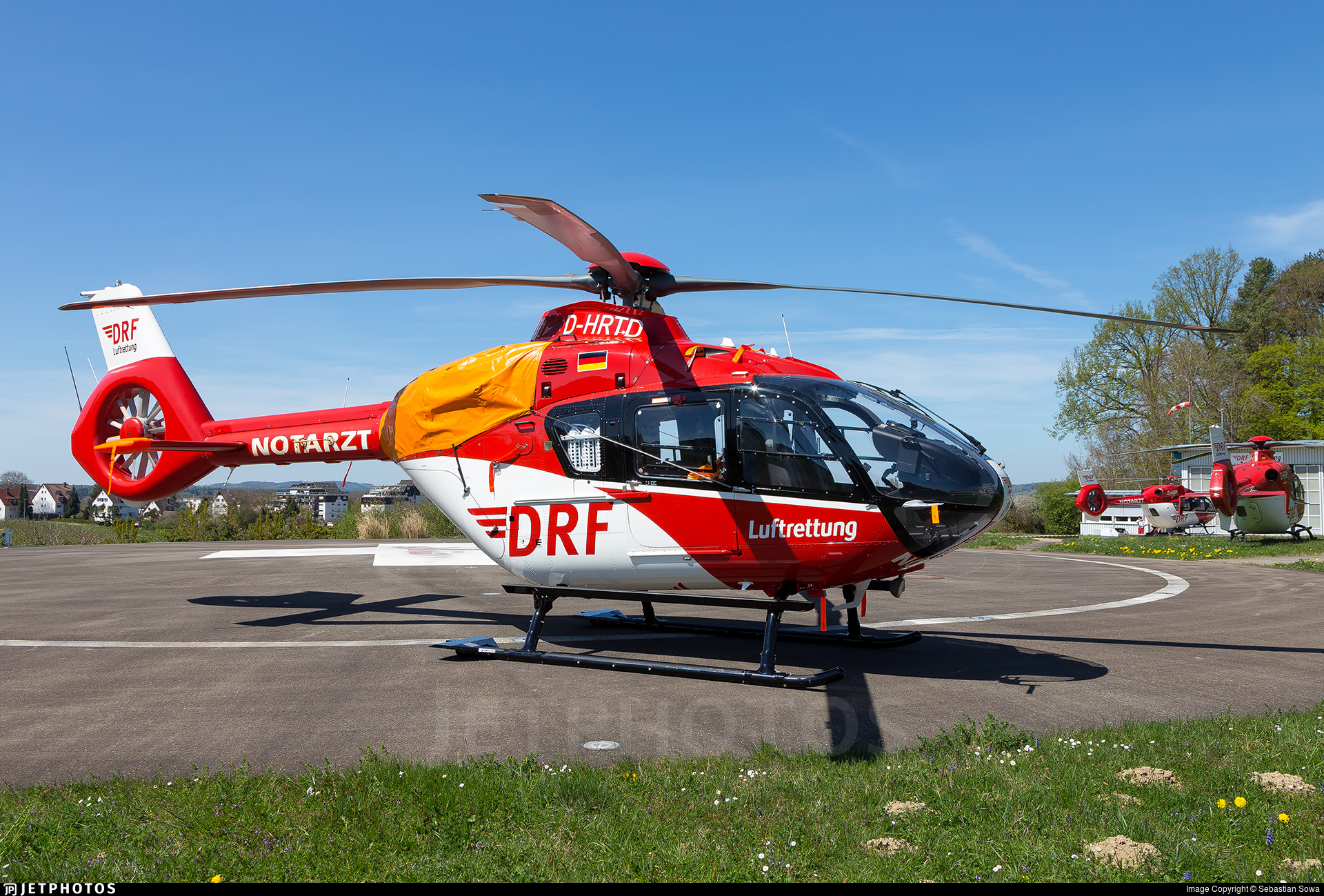 D-HRTD - Airbus Helicopters EC135 T3P3 - DRF Luftrettung