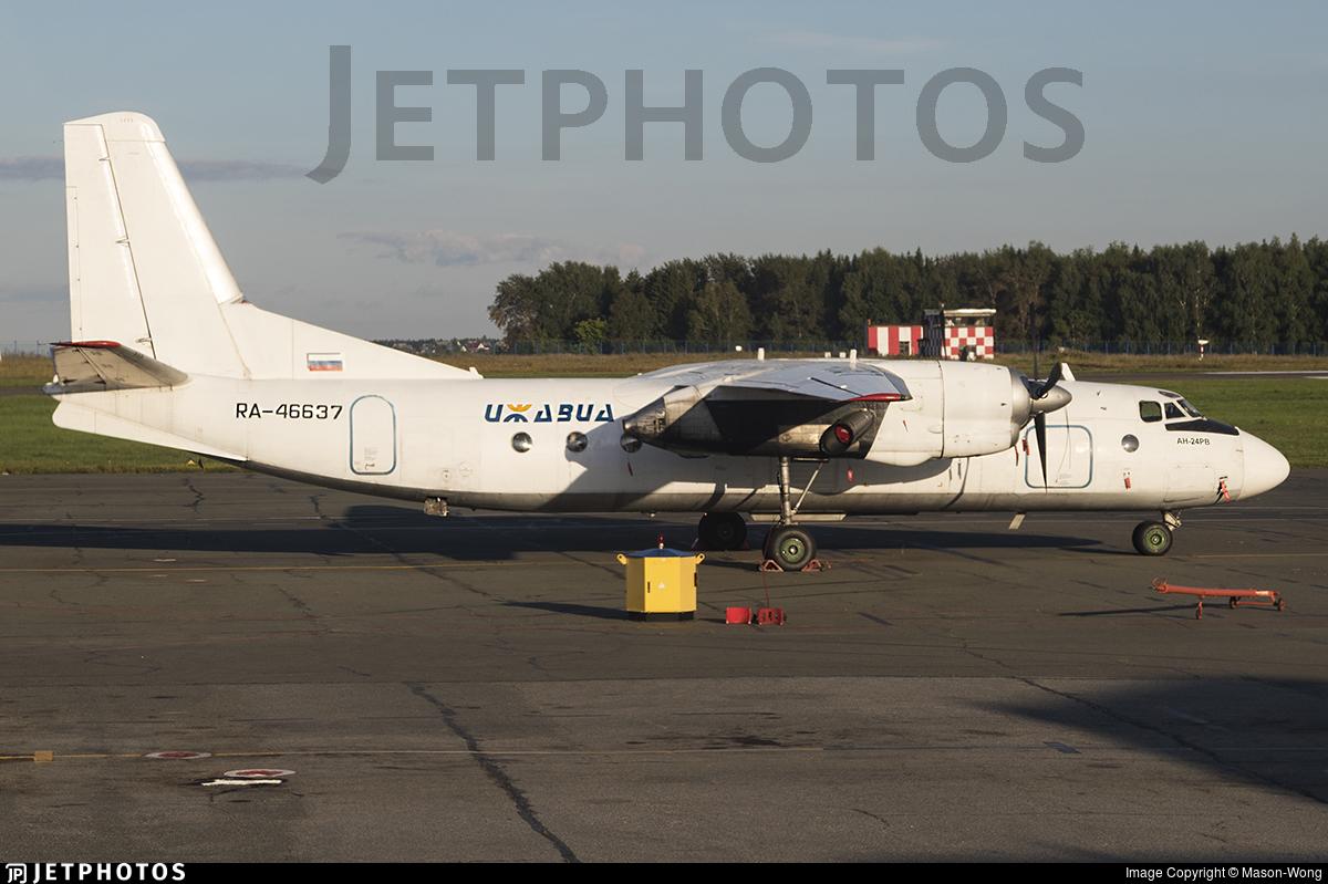 RA-46637 - Antonov An-24RV - Izhavia