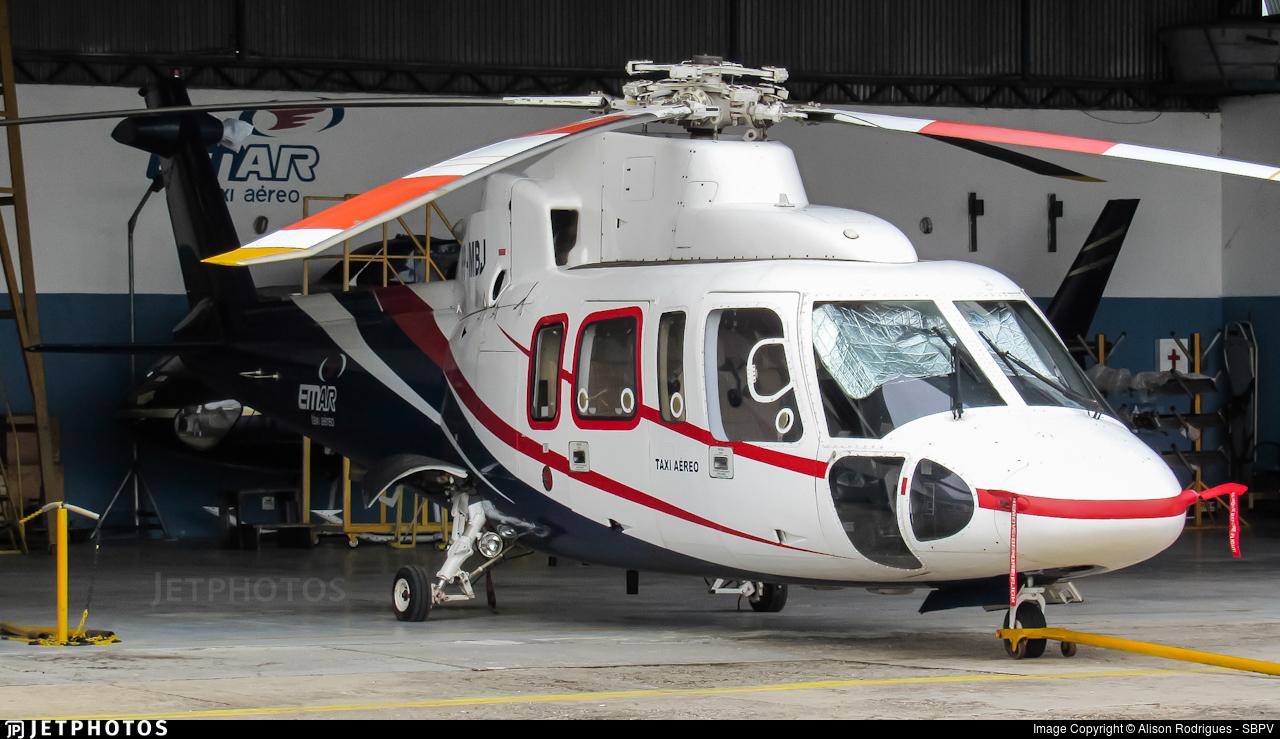 PP-MBJ - Sikorsky S-76A - Emar Táxi Aéreo