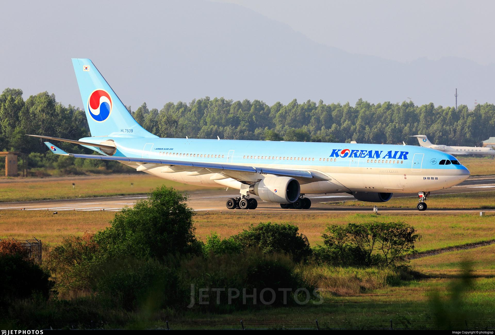 HL7539 - Airbus A330-223 - Korean Air