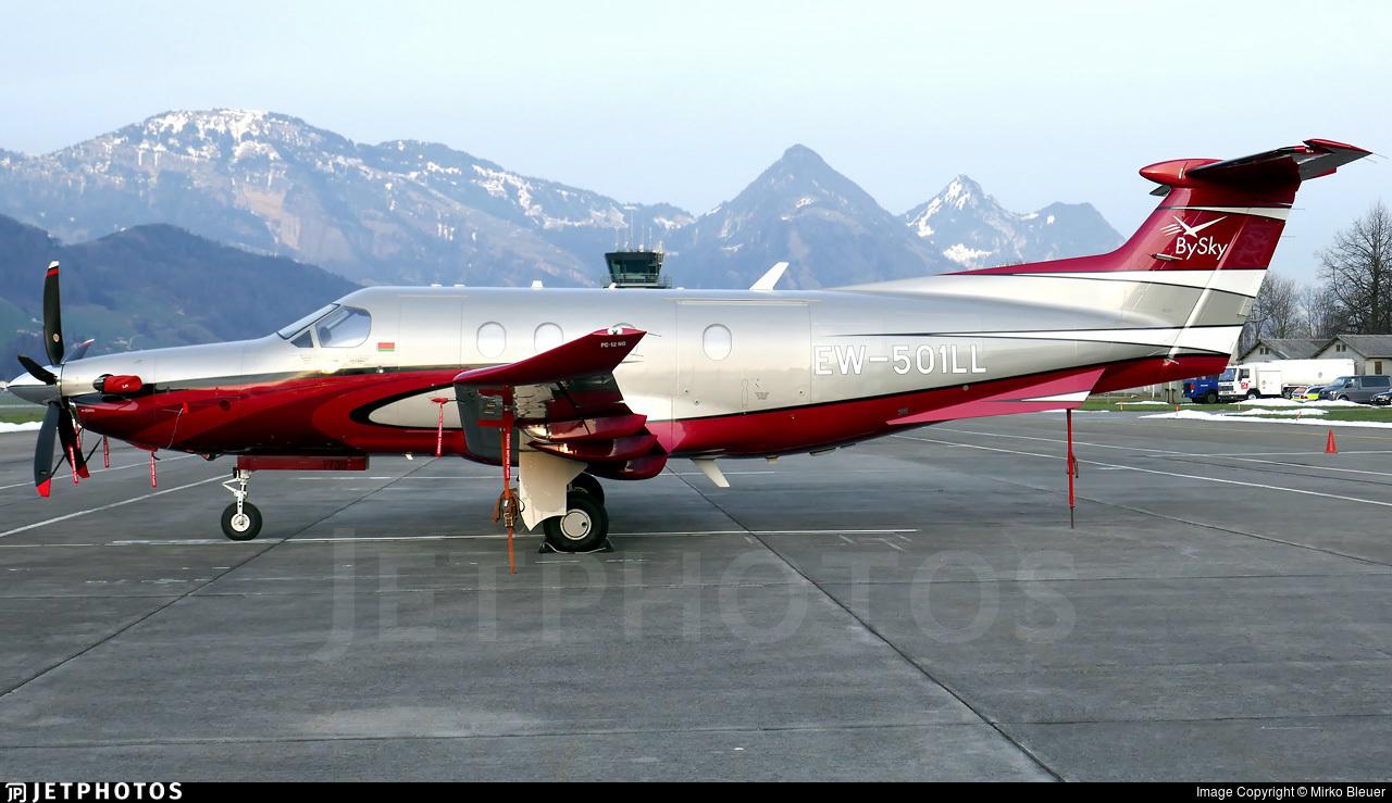 EW-501LL - Pilatus PC-12/47E - BySky