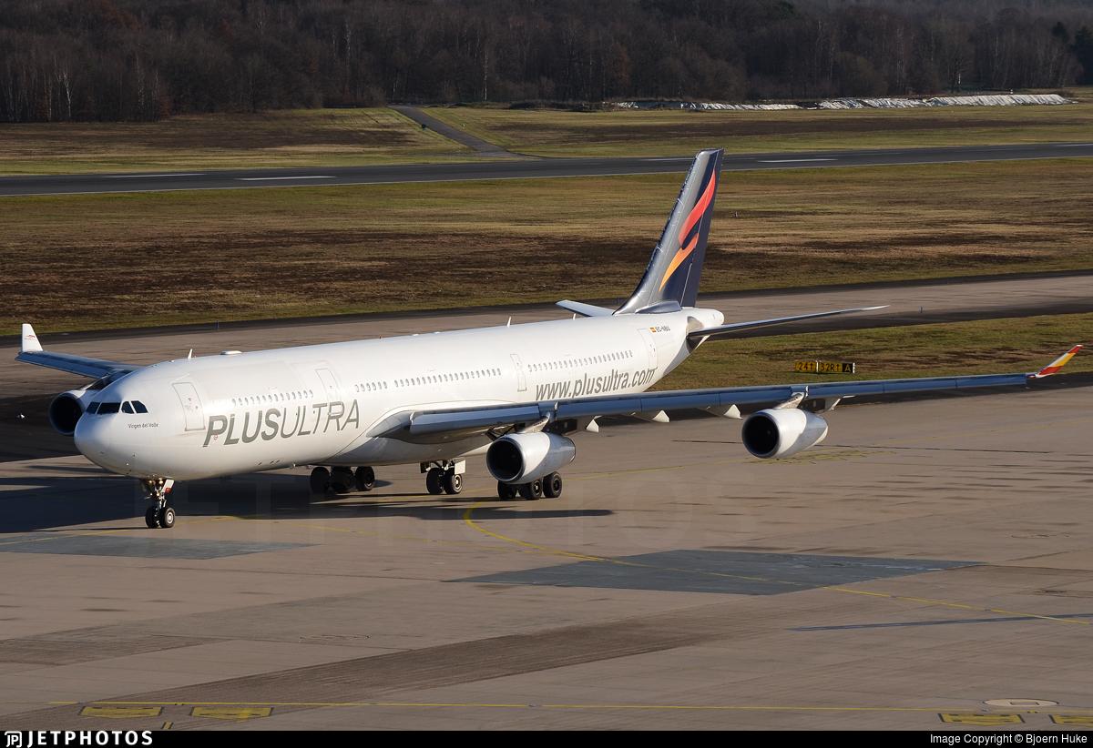 EC-NBU - Airbus A340-313 - Plus Ultra Líneas Aéreas