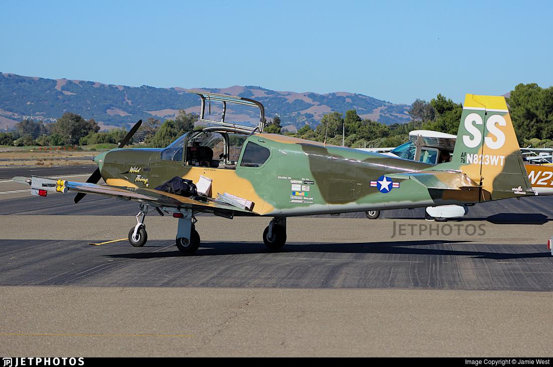 N823WT - IAR-823 - Private