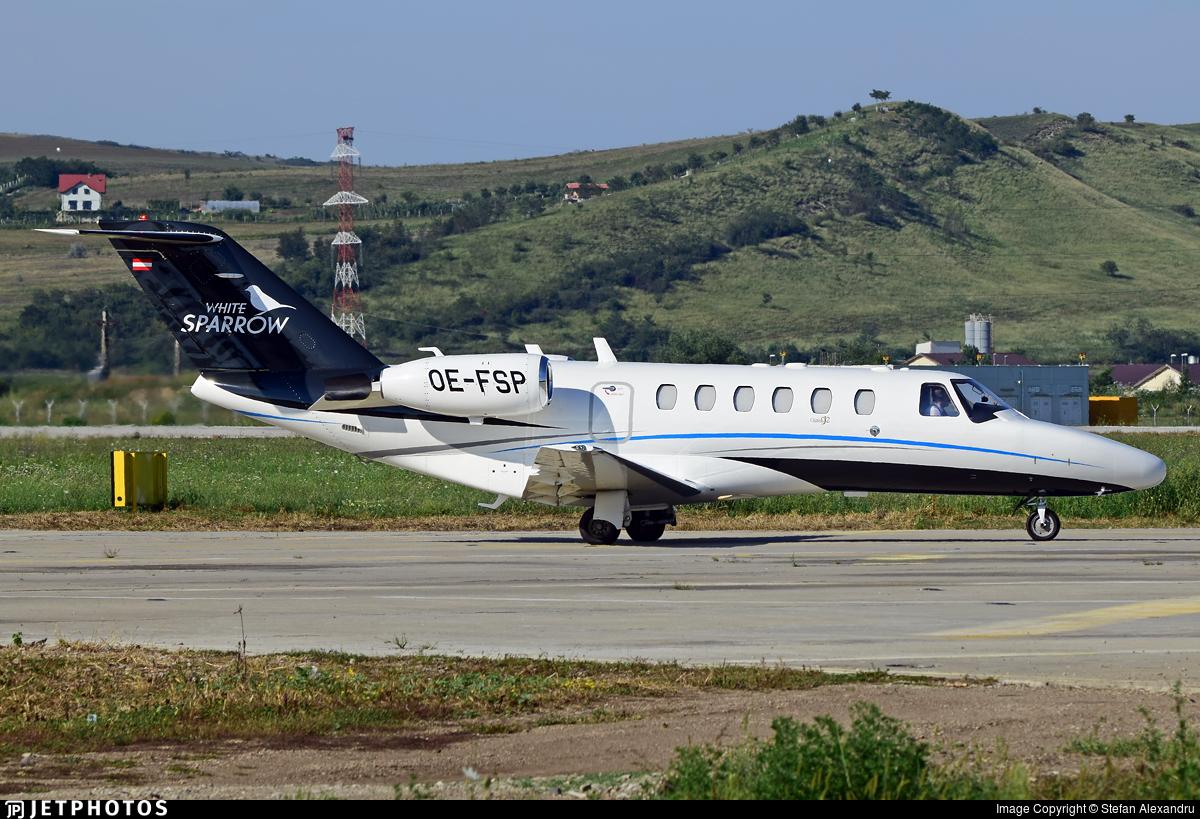 OE-FSP - Cessna 525A CitationJet CJ2 - Salzburg Jet Aviation