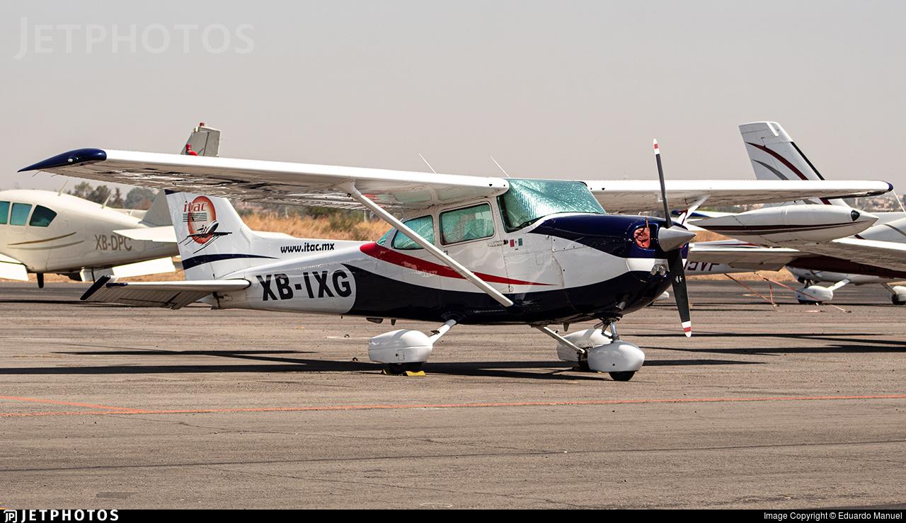 XB-IXG - Cessna 172 - ITAC - Escuela de Aviación