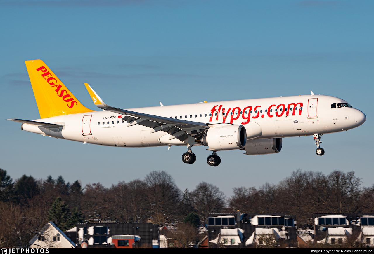 TC-NCK - Airbus A320-251N - Pegasus Airlines