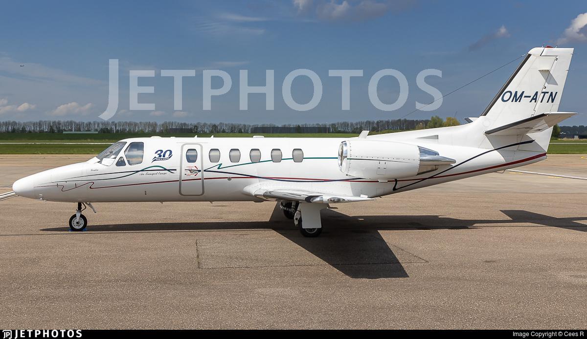 OM-ATN - Cessna 550B Citation Bravo - Air Transport Europe (ATE)