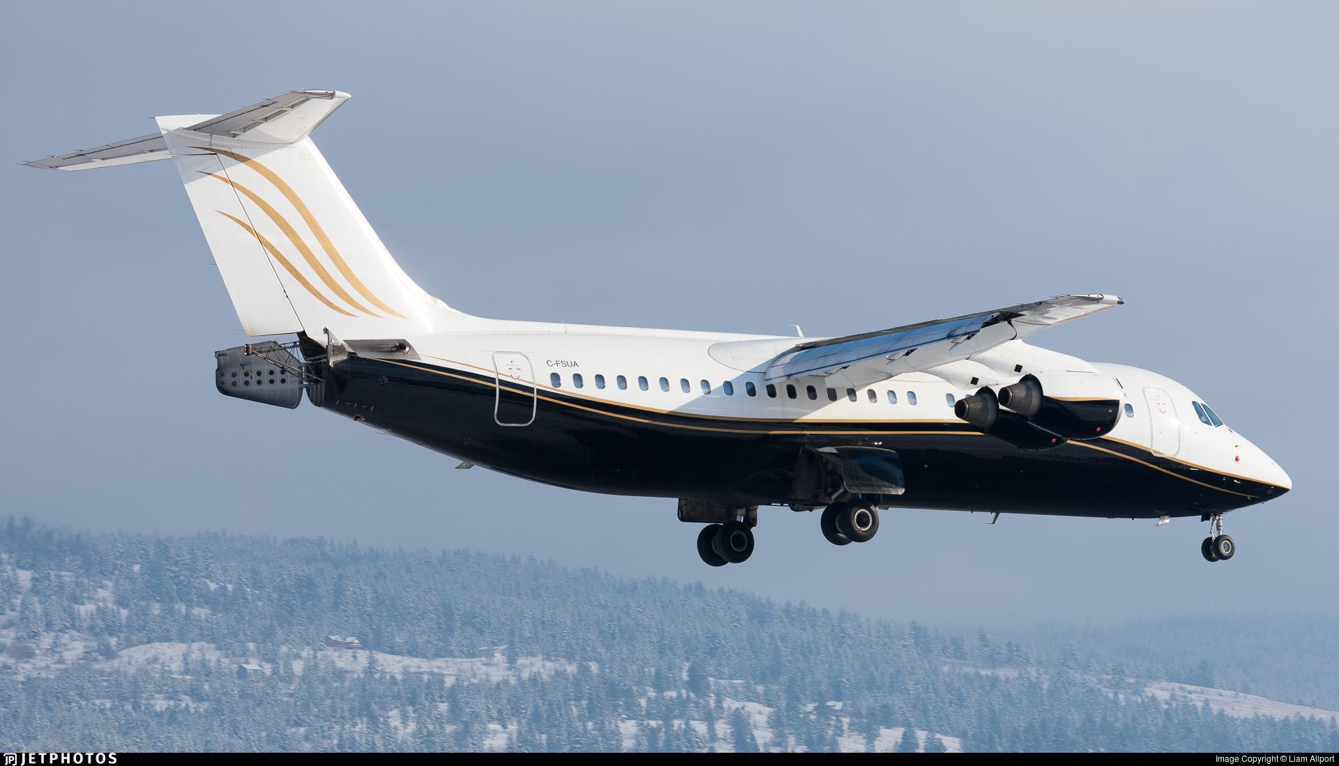 C-FSUA - British Aerospace Avro RJ100 - North Cariboo Air