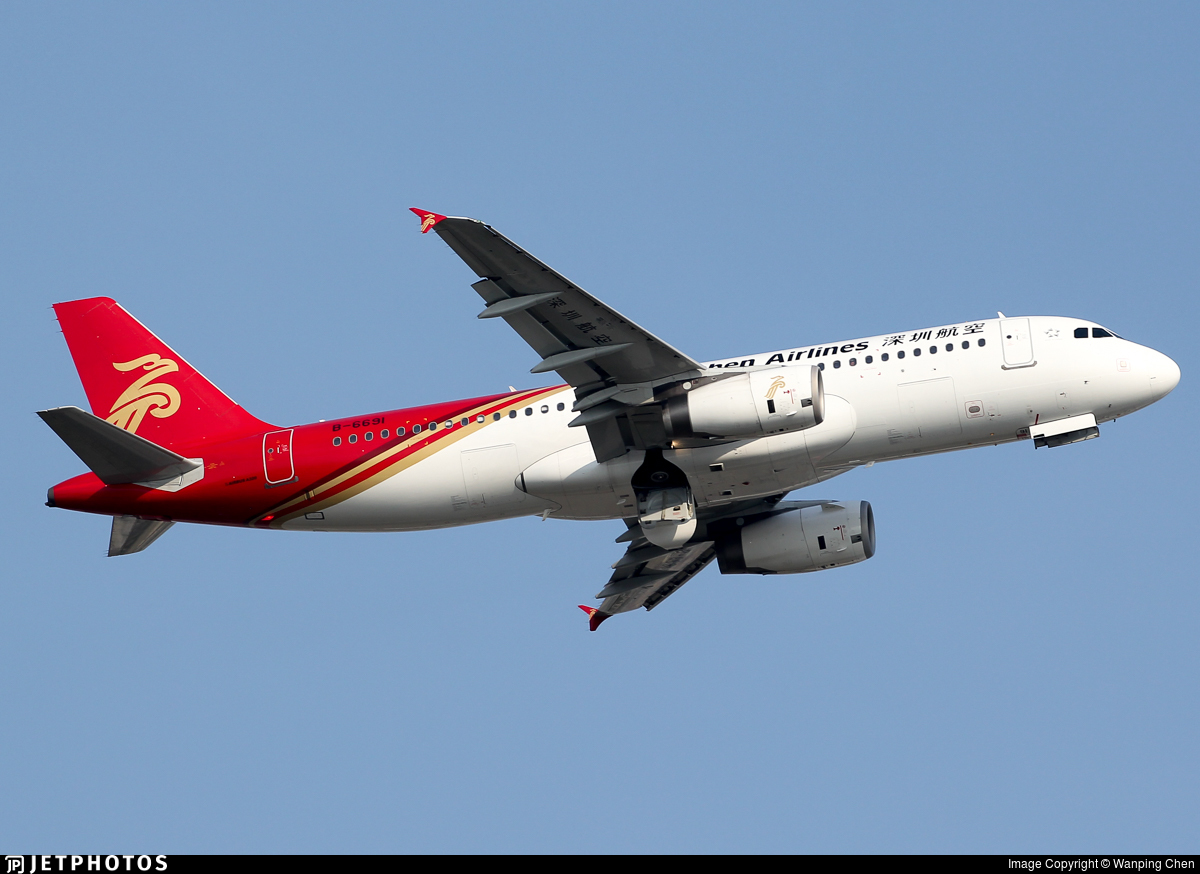 B-6691 - Airbus A320-232 - Shenzhen Airlines