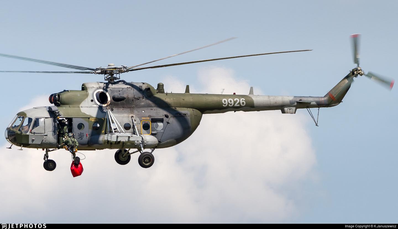 9926 - Mil Mi-171Sh Baikal - Czech Republic - Air Force