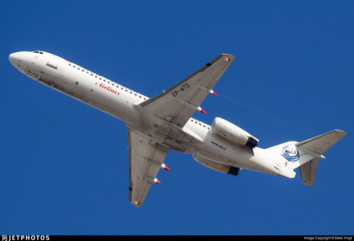 EP-ATD - Fokker 100 - Iran Aseman Airlines