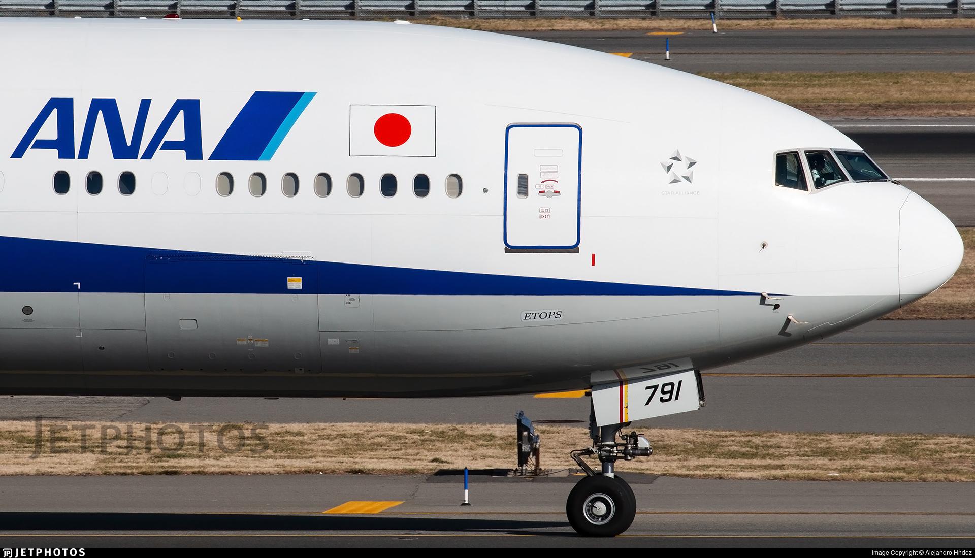 JA791A - Boeing 777-381ER - All Nippon Airways (ANA)