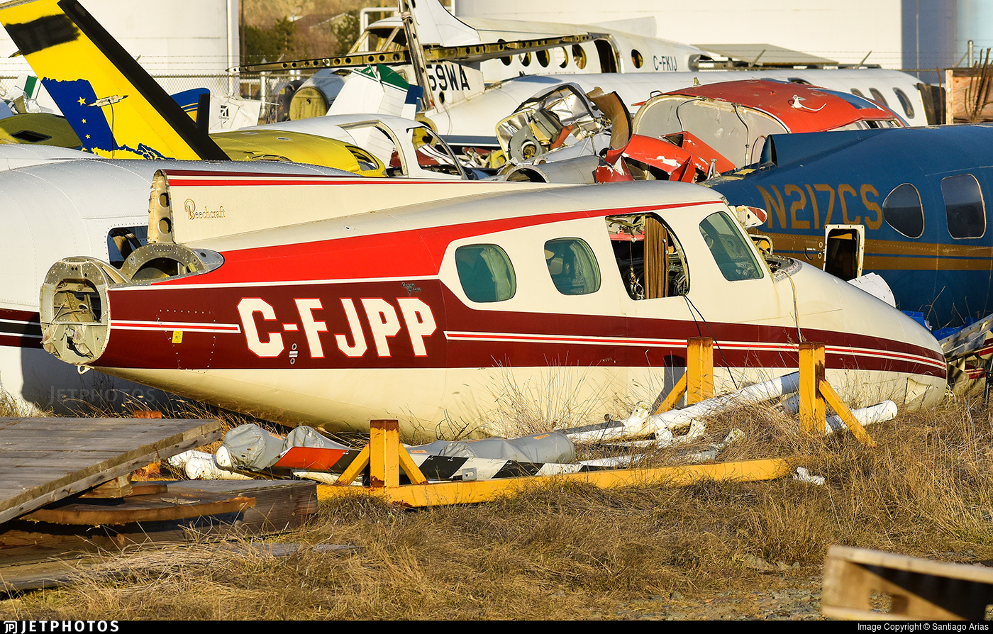 C-FJPP - Beechcraft B60 Duke - Private
