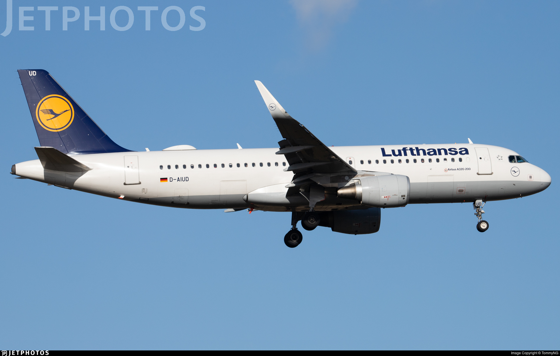 D-AIUD - Airbus A320-214 - Lufthansa