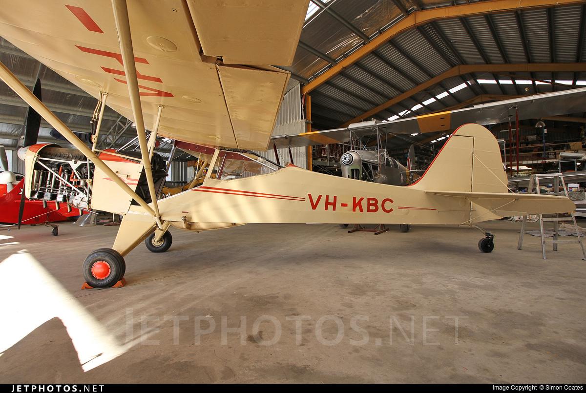 VH-KBC - Auster J1B - Private