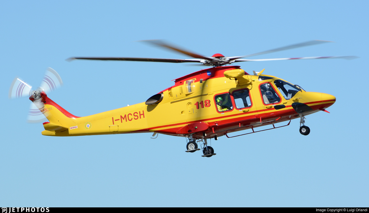 I-MCSH - Agusta-Westland AW-169 - Babcock Italia