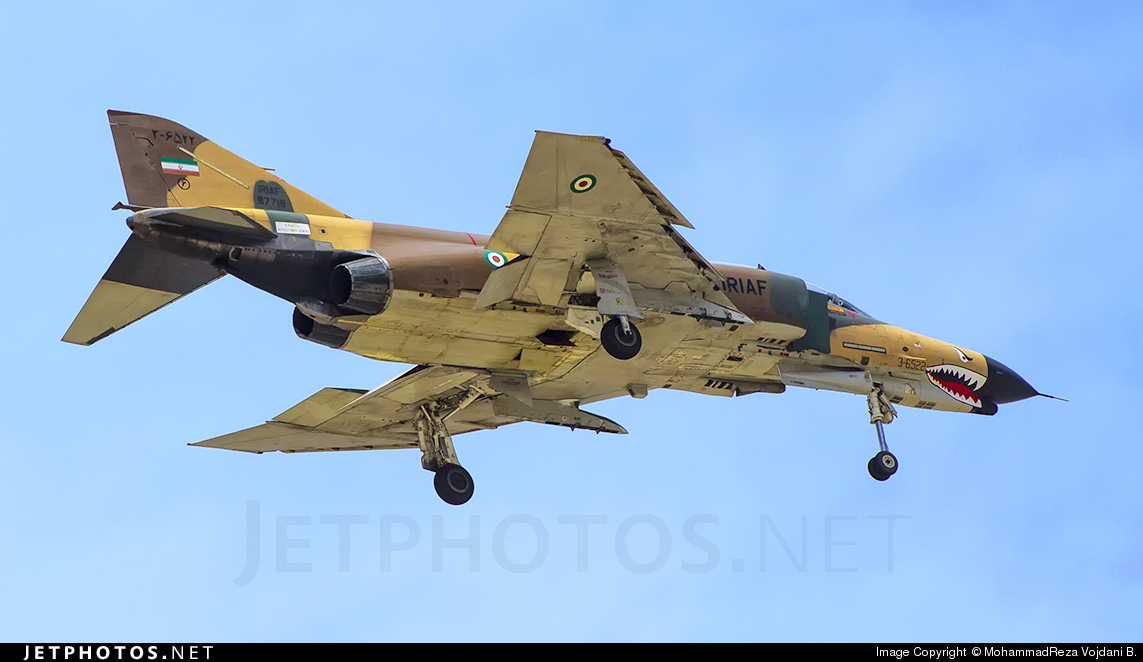 3-6522 - McDonnell Douglas F-4E Phantom II - Iran - Air Force