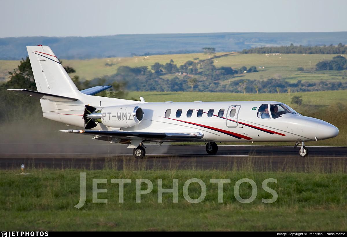 PT-WMZ - Cessna 560 Citation Ultra - Private