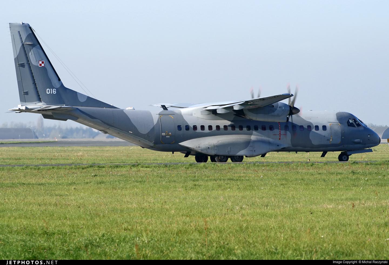 016 - CASA C-295M - Poland - Air Force