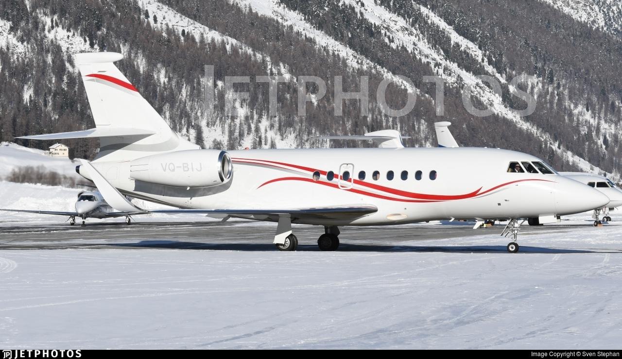 VQ-BIJ - Dassault Falcon 2000LX - Private