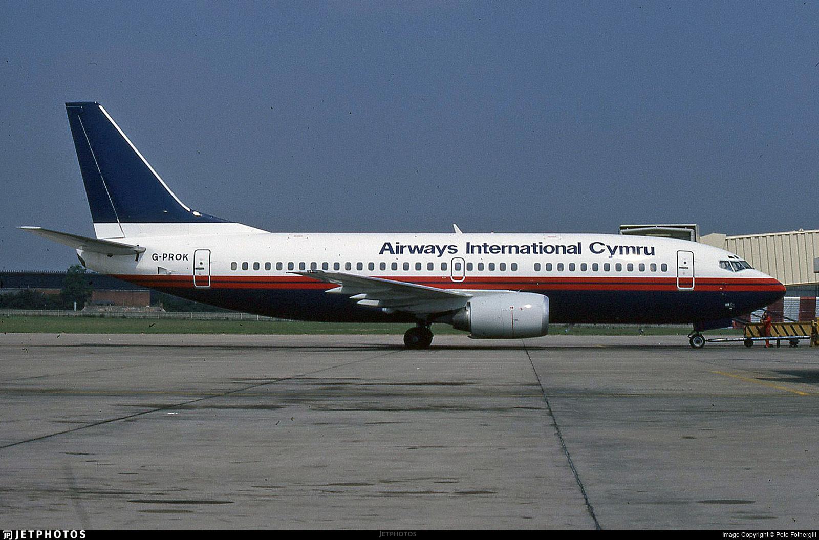 G-PROK - Boeing 737-3Q8 - Airways International Cymru