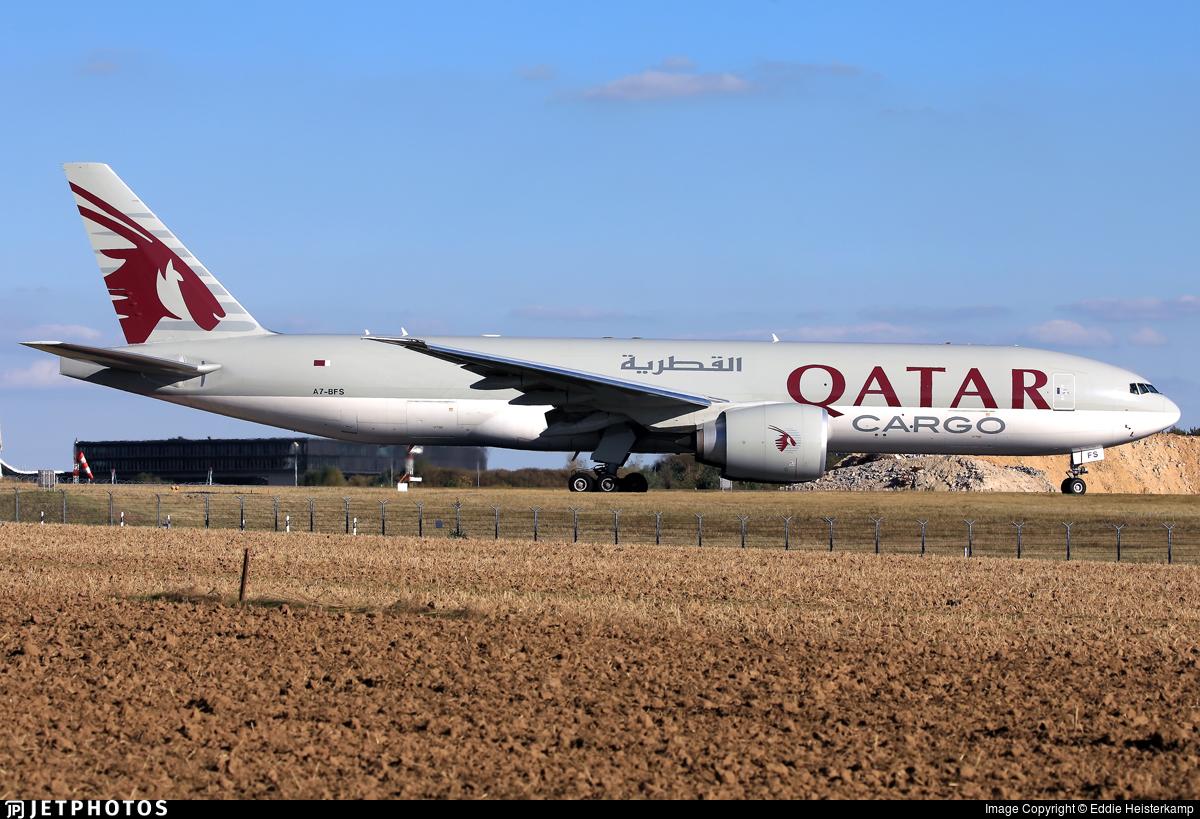A7-BFS - Boeing 777-FDZ - Qatar Airways Cargo